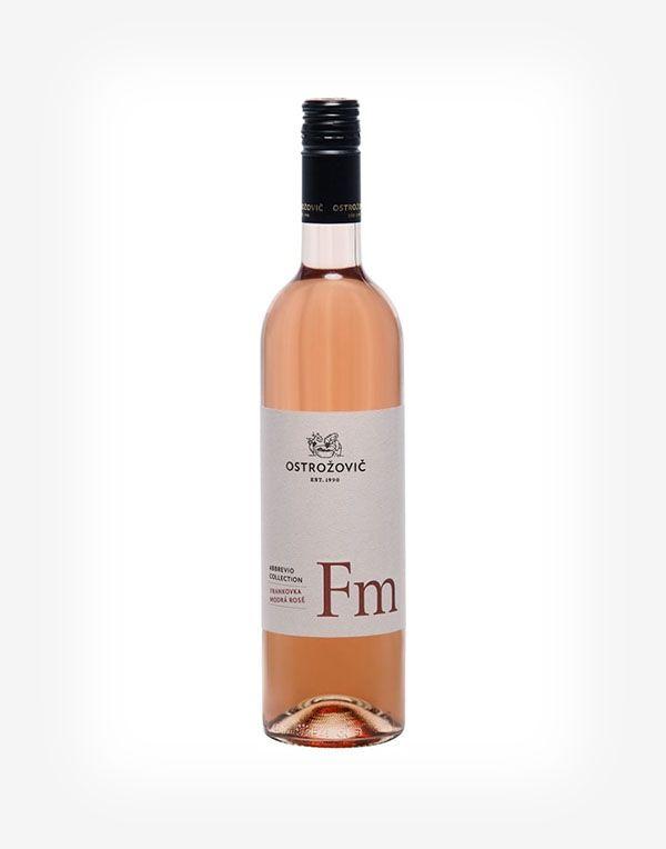 Frankovka modrá rosé Abbrevio 2019, polosuché