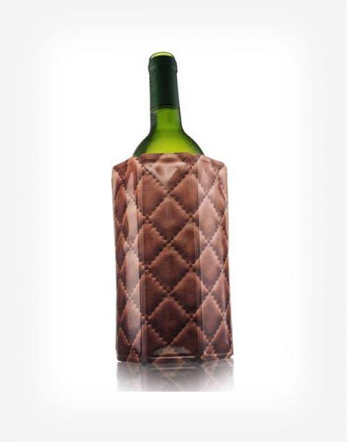 Chladič na víno manžetový Leather