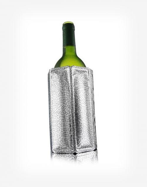Chladič na víno manžetový Silver