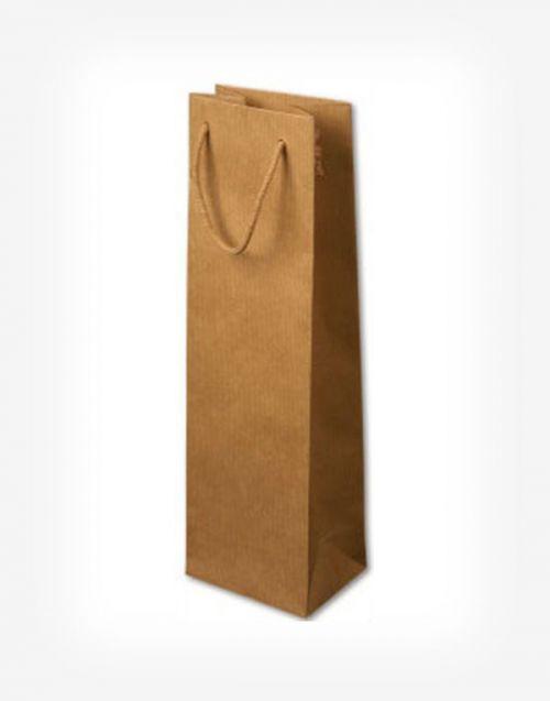 Darčeková taška na 1 fľašu natural