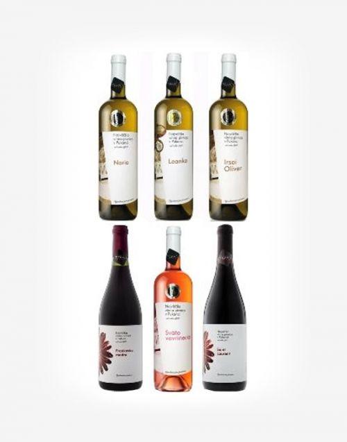 Najväčšia vínna pivnica Pukanec 6fl.